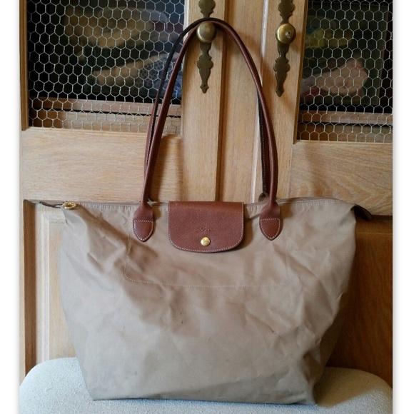 e8dee832ca3 Longchamp Handbags - Longchamp Le Pliage Large Tote Shoulder Bag Auth